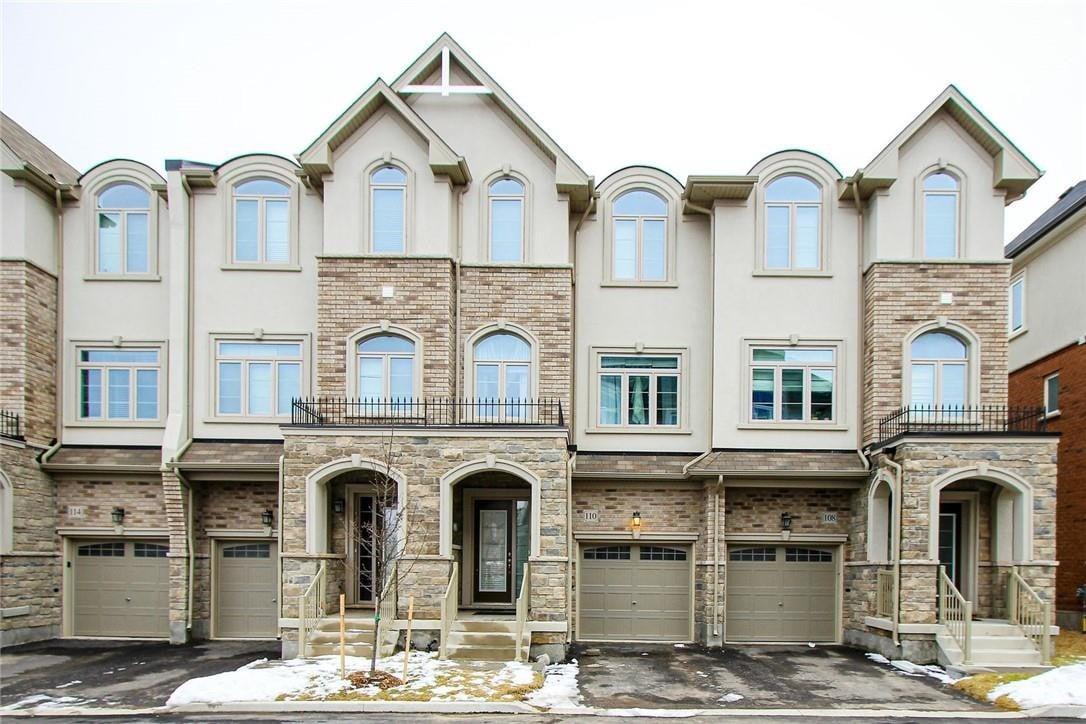 Townhouse for rent at 110 Borers Creek Circ Waterdown Ontario - MLS: H4082248