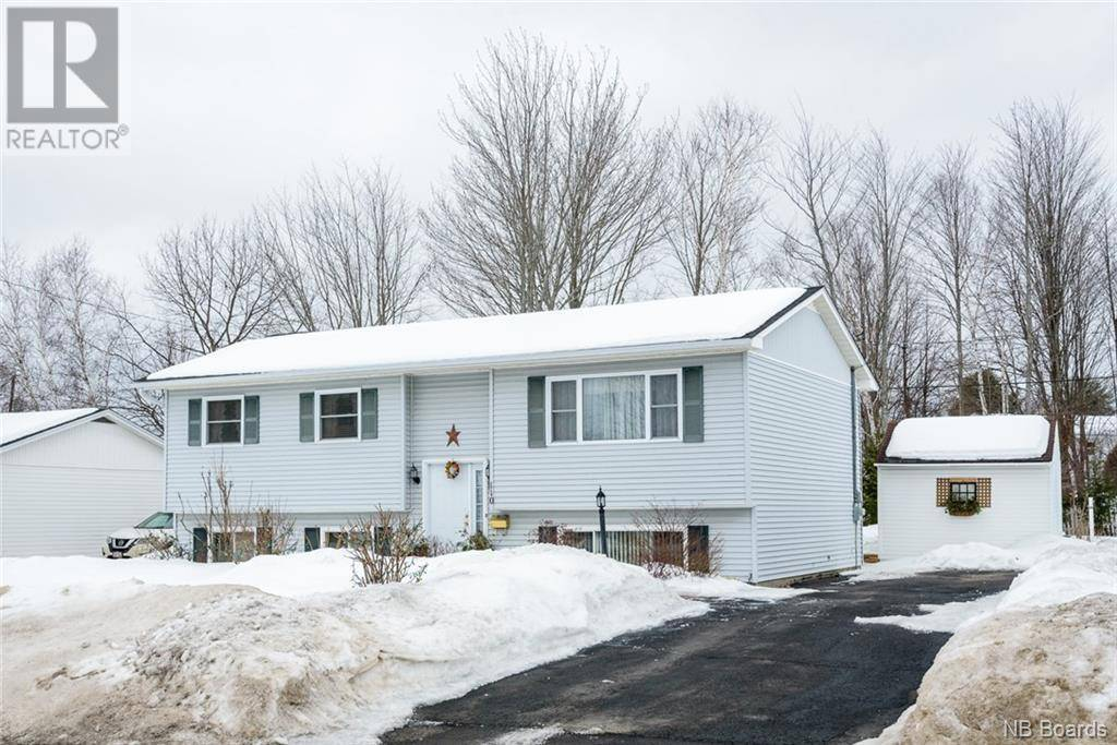 House for sale at 110 Chandler Dr Fredericton New Brunswick - MLS: NB041310