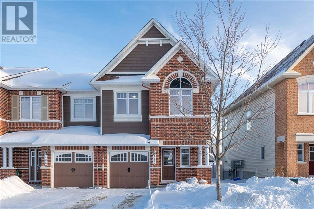 Townhouse for sale at 110 Garrity Cres Ottawa Ontario - MLS: 1179562