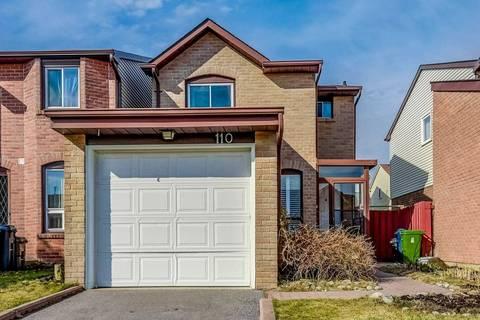 Home for sale at 110 James Park Sq Toronto Ontario - MLS: E4733300