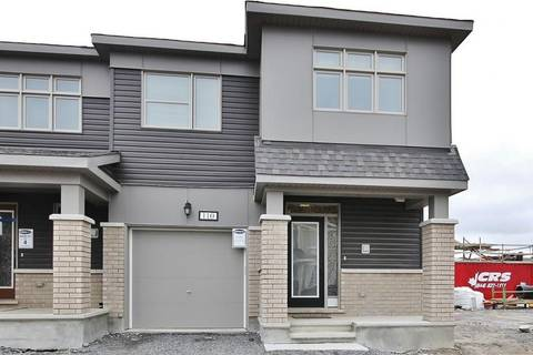 Townhouse for sale at 110 Lanceleaf Wy Ottawa Ontario - MLS: 1153058