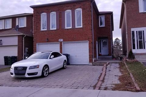 House for rent at 110 Mammoth Hall Tr Toronto Ontario - MLS: E4680286