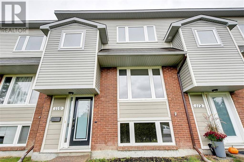 Townhouse for sale at 110 Monterey Dr Ottawa Ontario - MLS: 1172781