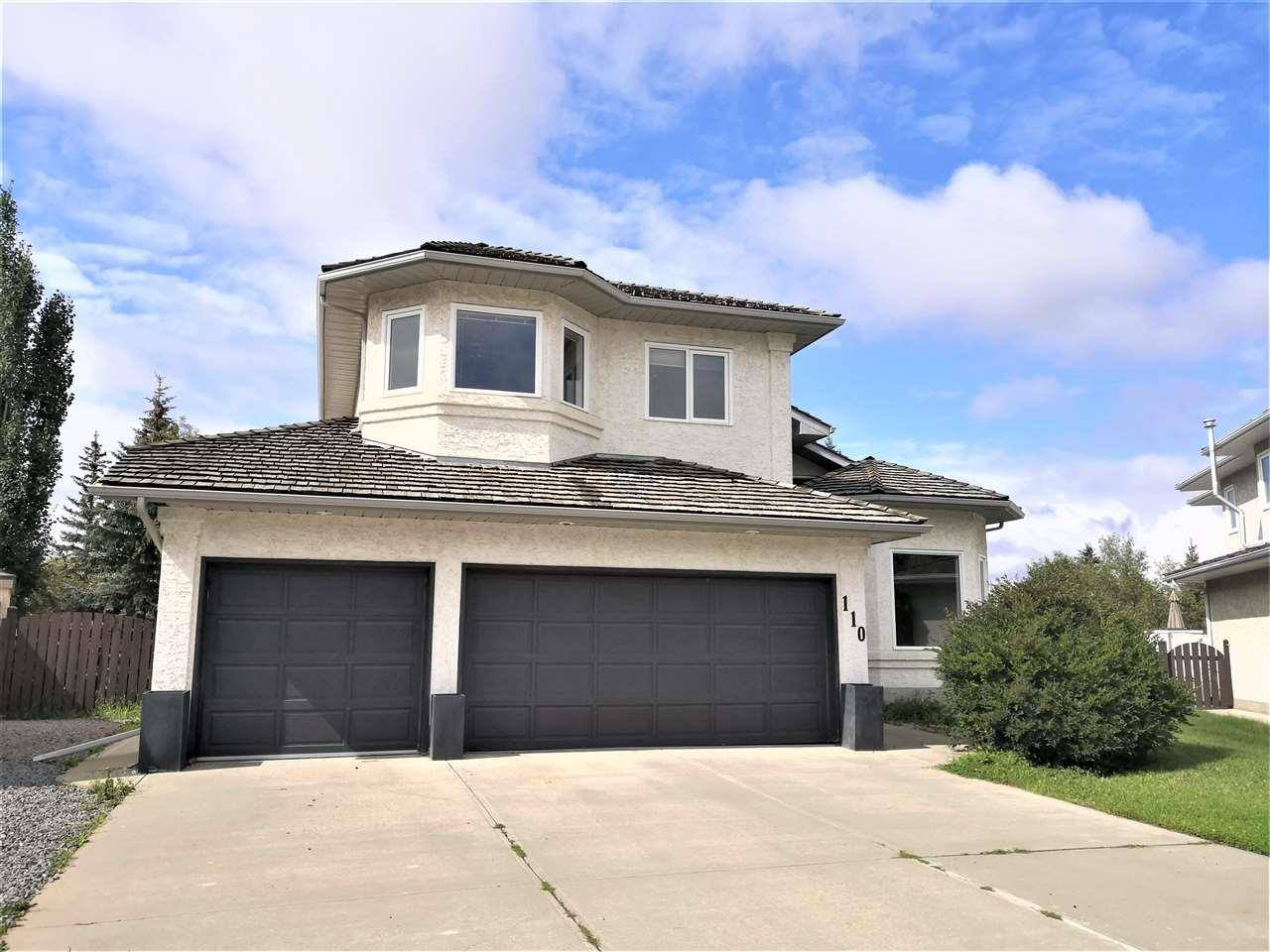 House for sale at 110 Roche Cres Nw Edmonton Alberta - MLS: E4171736