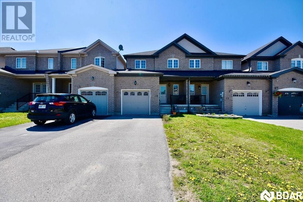 Townhouse for sale at 110 Stonemount Cres Angus Ontario - MLS: 30808408