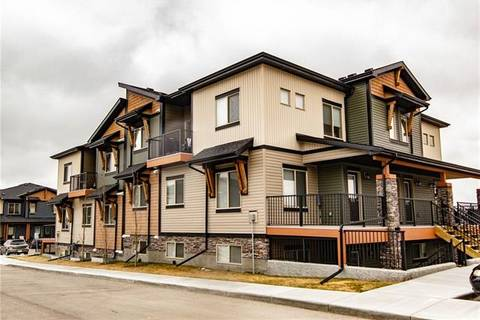 Townhouse for sale at 2461 Baysprings Li Southwest Unit 1101 Airdrie Alberta - MLS: C4259342
