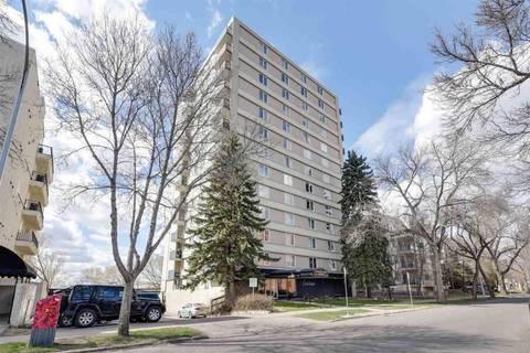Condo for sale at 9816 112 St Nw Unit 1101 Edmonton Alberta - MLS: E4155753