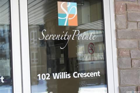 Condo for sale at 102 Willis Cres Unit 1103 Saskatoon Saskatchewan - MLS: SK804538