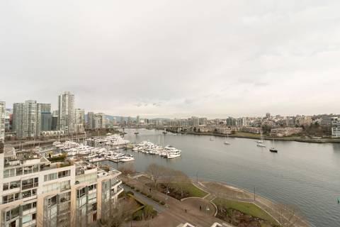 Condo for sale at 1328 Marinaside Cres Unit 1103 Vancouver British Columbia - MLS: R2337141