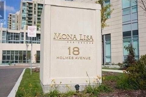 Apartment for rent at 18 Holmes Ave Unit 1103 Toronto Ontario - MLS: C4519275
