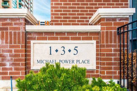 Condo for sale at 1 Michael Power Pl Unit 1104 Toronto Ontario - MLS: W4669038