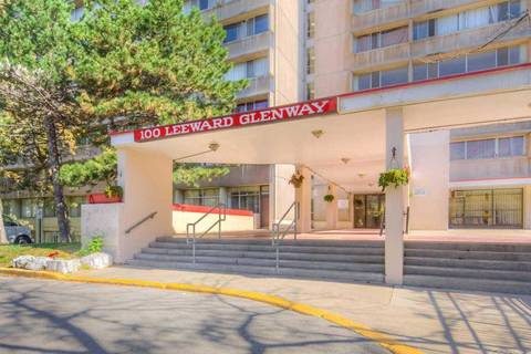 Condo for sale at 100 Leeward Glwy Unit 1105 Toronto Ontario - MLS: C4625000