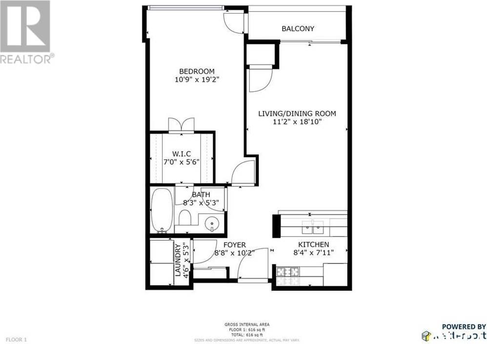 Condo for sale at 75 Ellen St Unit 1105 Barrie Ontario - MLS: 30765385