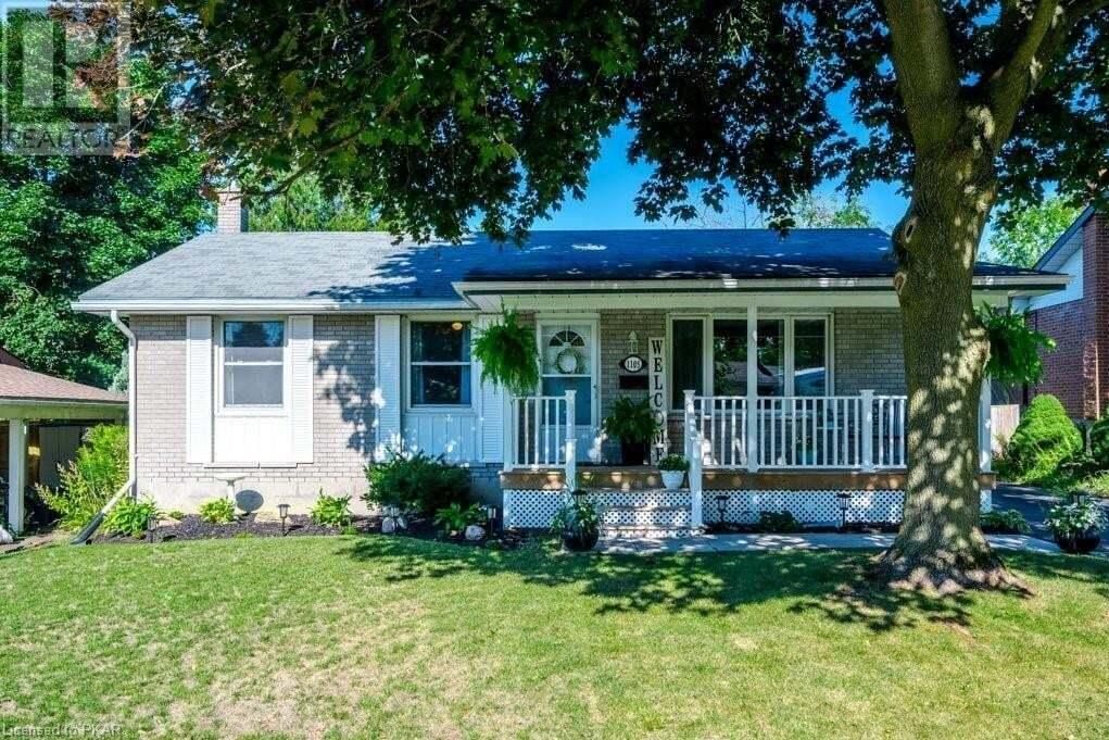 House for sale at 1105 Barnardo St Peterborough Ontario - MLS: 40018126