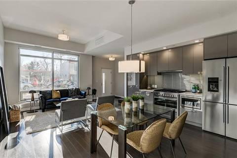 Condo for sale at 1234 5 Ave Northwest Unit 1106 Calgary Alberta - MLS: C4275879