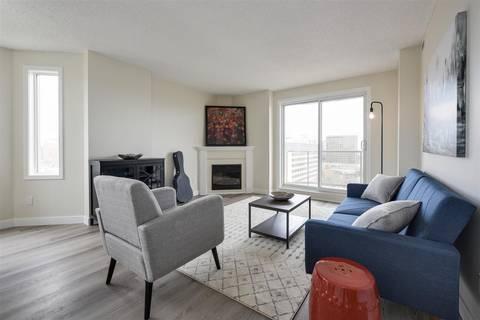 Condo for sale at 9741 110 St Nw Unit 1106 Edmonton Alberta - MLS: E4154337