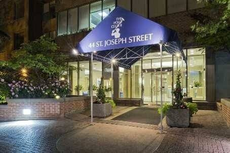 Apartment for rent at 44 St Joseph St Unit 1108 Toronto Ontario - MLS: C4574779