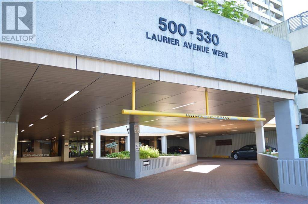 Condo for sale at 500 Laurier Ave W Unit 1109 Ottawa Ontario - MLS: 1174840