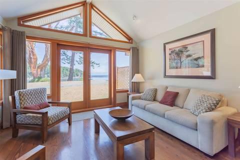 Home for sale at 494 Arbutus Dr Unit 110B Mayne Island British Columbia - MLS: R2424974