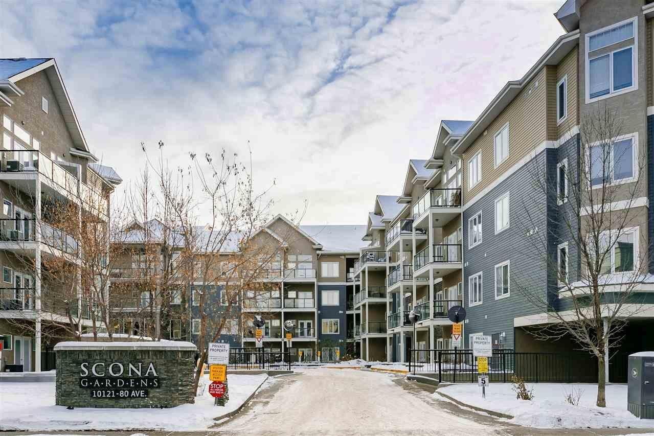 Condo for sale at 10121 80 Av NW Unit 111 Edmonton Alberta - MLS: E4218577