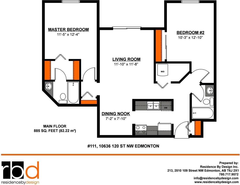 Condo for sale at 10636 120 St Nw Unit 111 Edmonton Alberta - MLS: E4173799