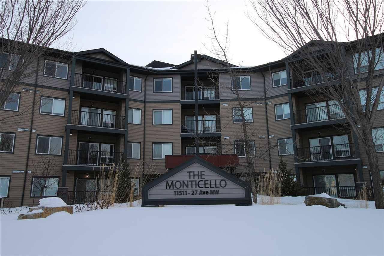 Condo for sale at 11511 27 Ave Nw Unit 111 Edmonton Alberta - MLS: E4192292
