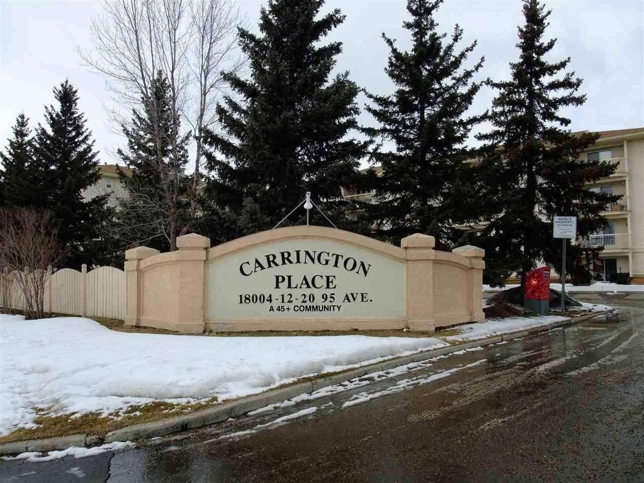 Condo for sale at 18004 95 Ave Nw Unit 111 Edmonton Alberta - MLS: E4191476