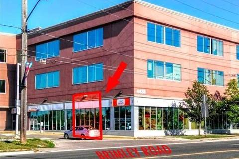Commercial property for lease at 4438 Sheppard Ave Apartment 111 Toronto Ontario - MLS: E4683653