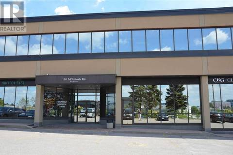 Commercial property for lease at 50 Mcintosh Dr Apartment 111 Markham Ontario - MLS: N4712363