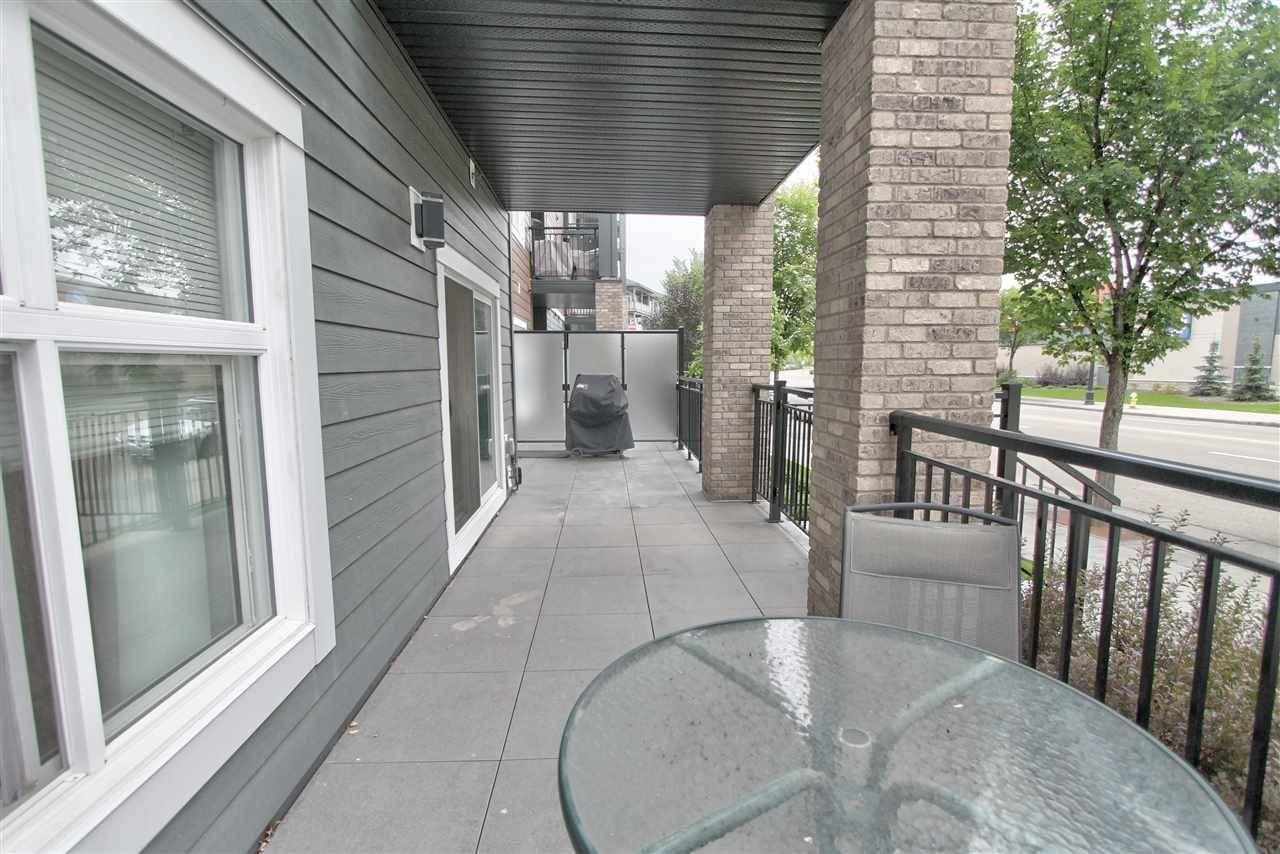 Condo for sale at 504 Griesbach Pr Nw Unit 111 Edmonton Alberta - MLS: E4169279