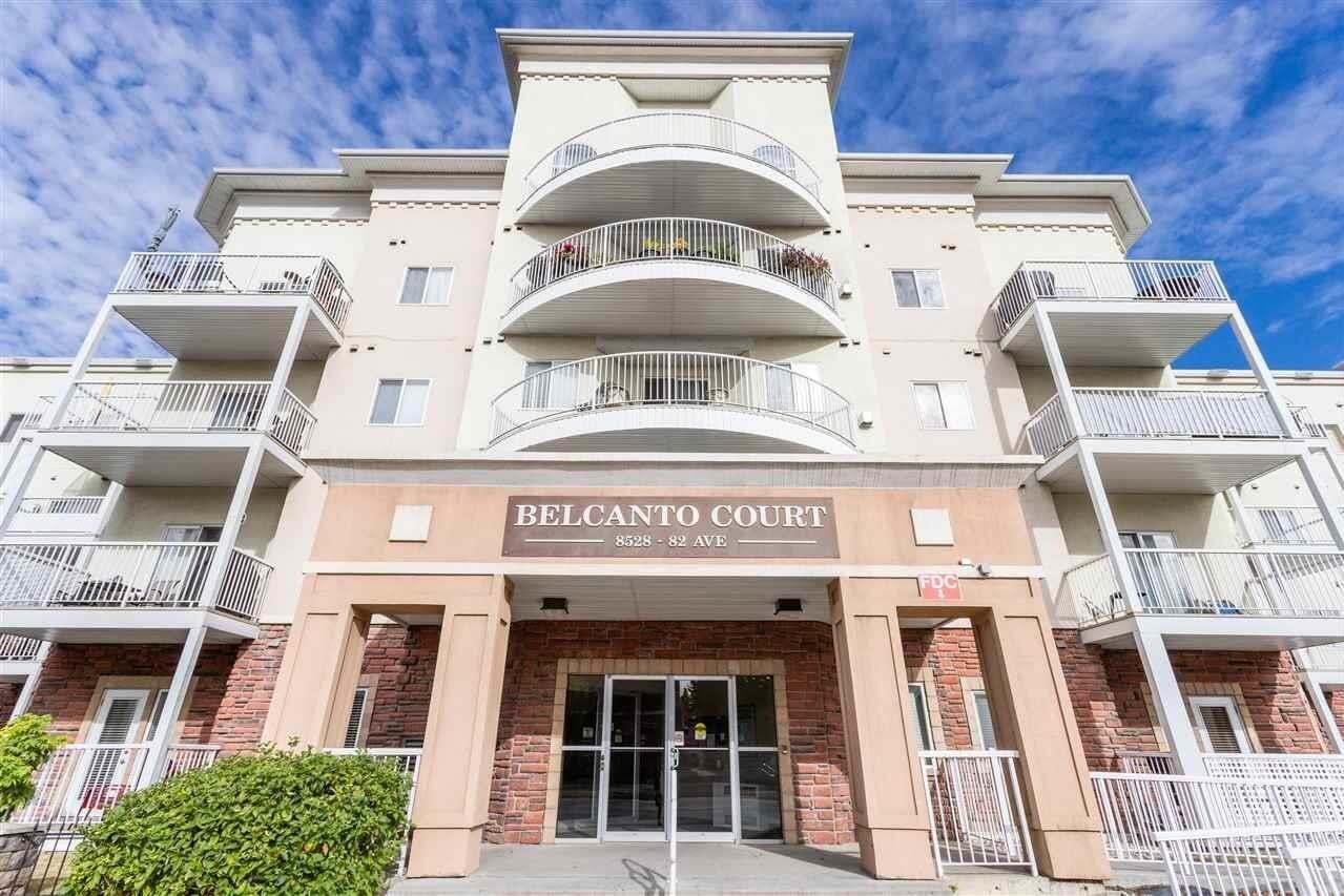 Condo for sale at 8528 82 Av NW Unit 111 Edmonton Alberta - MLS: E4203443