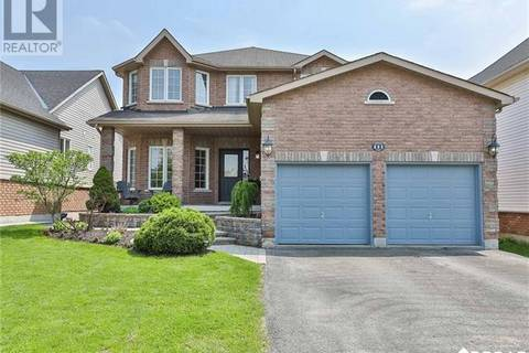 House for sale at 111 Birkhall Pl Barrie Ontario - MLS: 30738287