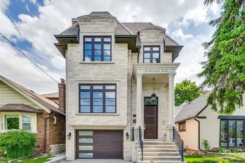 House for sale at 111 Brooke Ave Toronto Ontario - MLS: C4540792