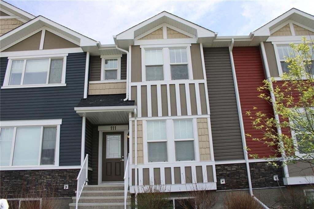 Townhouse for sale at 111 Fireside Pw Fireside, Cochrane Alberta - MLS: C4278904