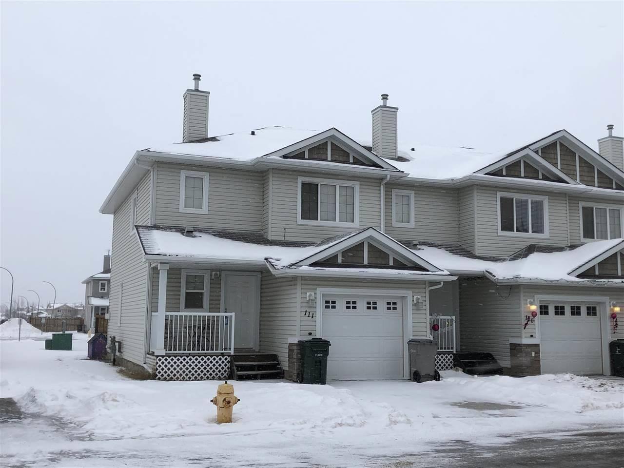 Townhouse for sale at 111 Graywood Me Stony Plain Alberta - MLS: E4187313