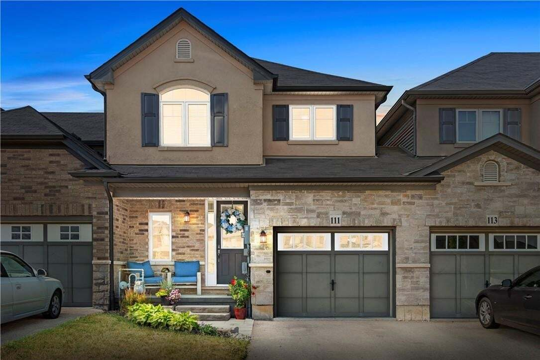 Townhouse for sale at 111 Sexton Cres Ancaster Ontario - MLS: H4081847