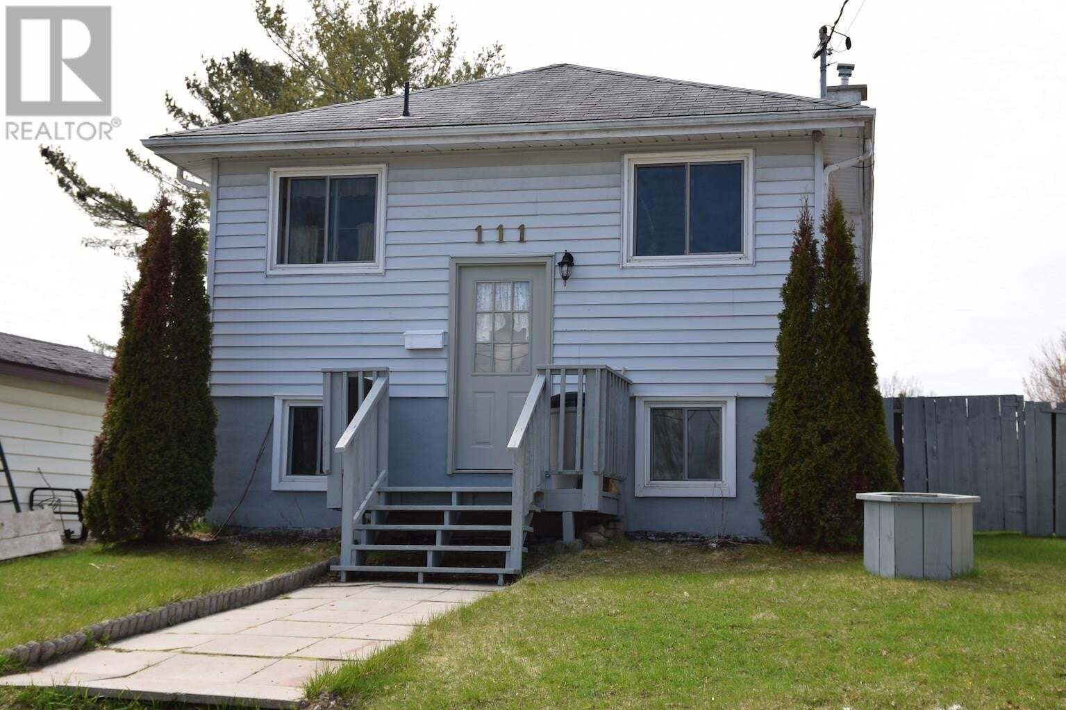 House for sale at 111 Youngfox Rd Blind River Ontario - MLS: SM127320
