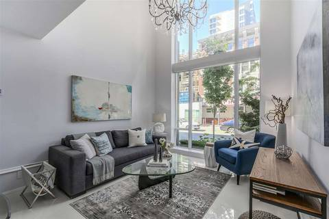 Townhouse for sale at 1110 Hornby St Vancouver British Columbia - MLS: R2360815