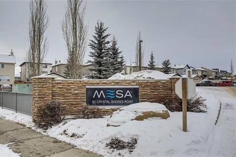 Condo for sale at 92 Crystal Shores Rd Unit 1111 Okotoks Alberta - MLS: C4281177
