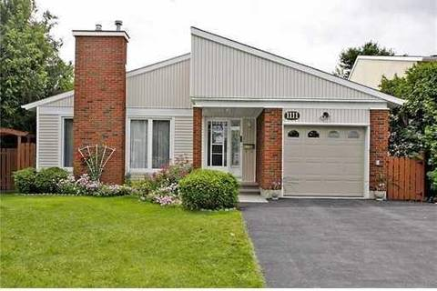 House for sale at 1111 Chateau Cres Ottawa Ontario - MLS: 1156366