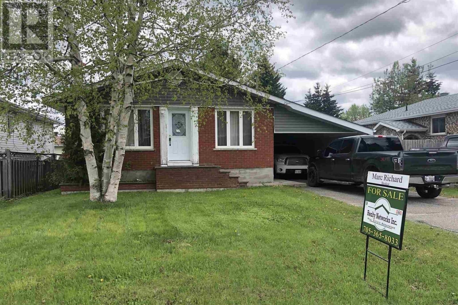 House for sale at 1111 Ferguson Rd Timmins Ontario - MLS: TM200010
