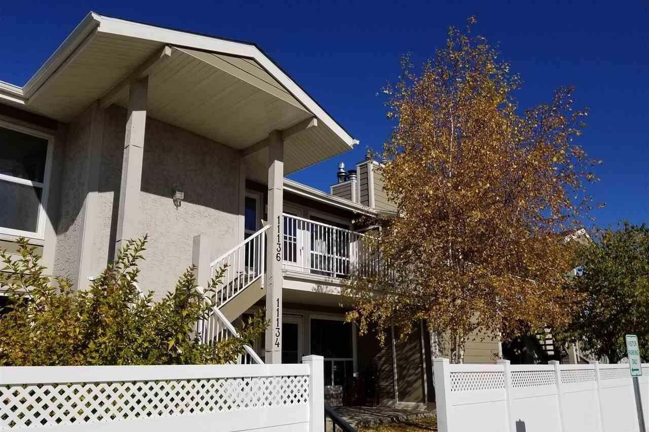 Townhouse for sale at 11136 18 Av NW Edmonton Alberta - MLS: E4216311