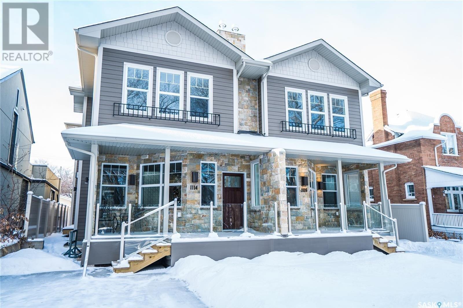 House for sale at 1114 Spadina Cres E Saskatoon Saskatchewan - MLS: SK819483