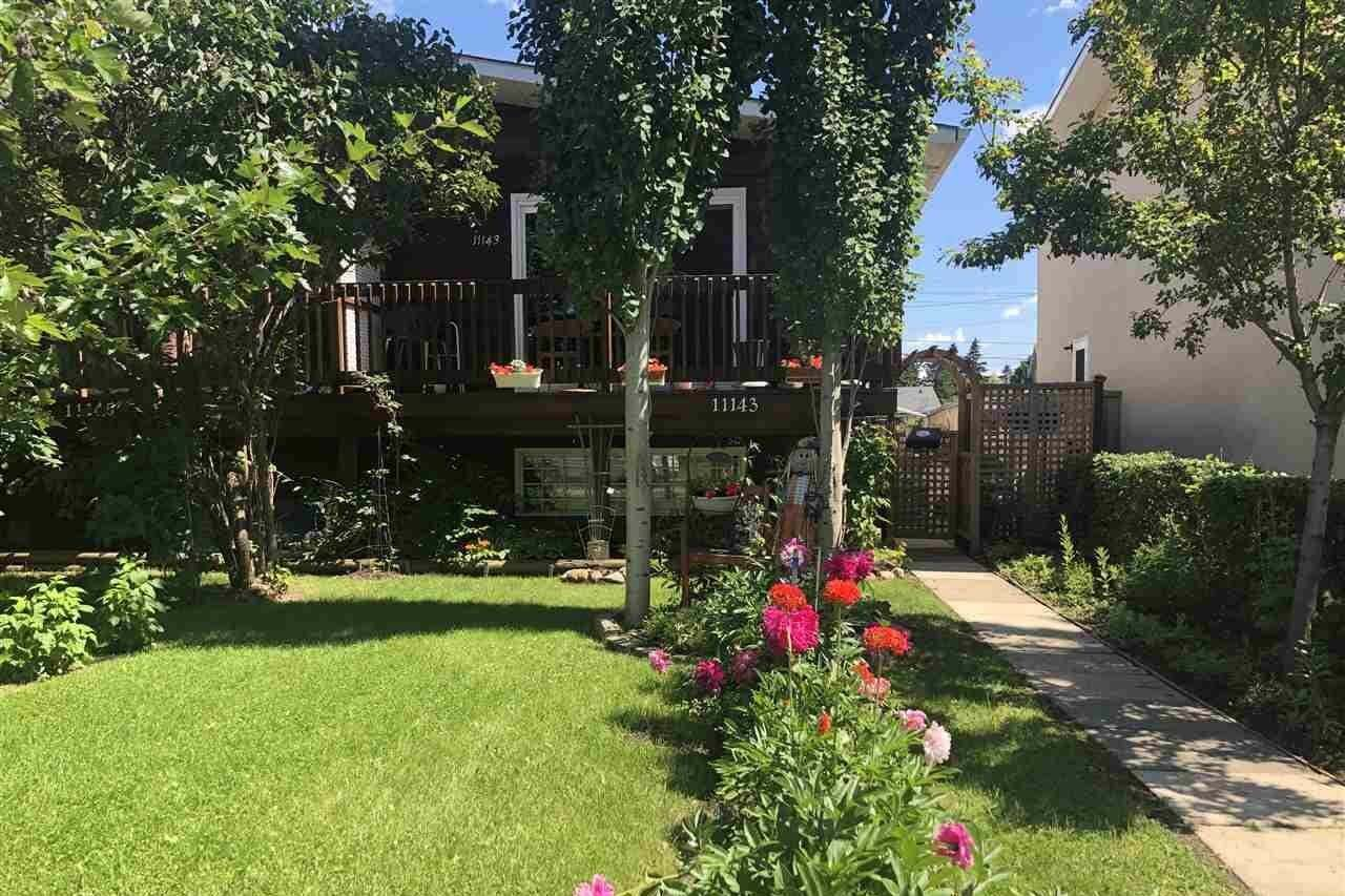 Townhouse for sale at 11143 51 St NW Edmonton Alberta - MLS: E4205717