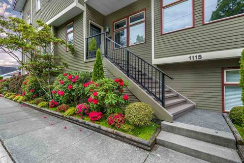Townhouse for sale at 1115 Chestnut St Vancouver British Columbia - MLS: R2360721