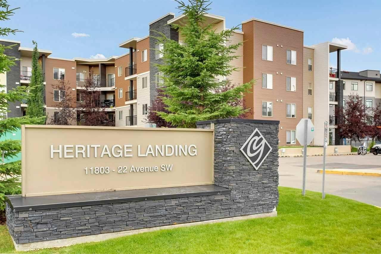 Condo for sale at 11803 22 Av SW Unit 112 Edmonton Alberta - MLS: E4221521