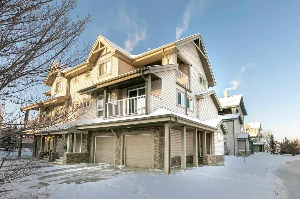 Townhouse for sale at 12050 17 Ave Sw Unit 112 Edmonton Alberta - MLS: E4184383