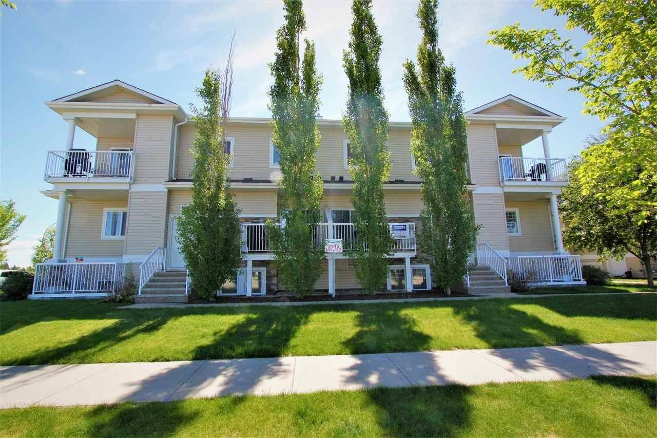 Townhouse for sale at 164 Bridgeport Blvd Unit 112 Leduc Alberta - MLS: E4161352