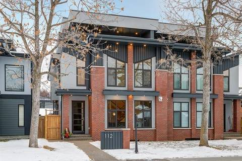 Townhouse for sale at 112 34a St Northwest Calgary Alberta - MLS: C4262592