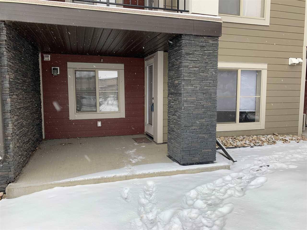 Condo for sale at 5370 Chappelle Rd Sw Unit 112 Edmonton Alberta - MLS: E4181977